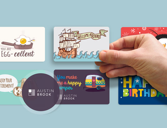 Show Your Personality with a Custom Design Giftogram and eGift Cards