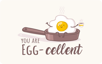You're Egg-cellent Giftogram